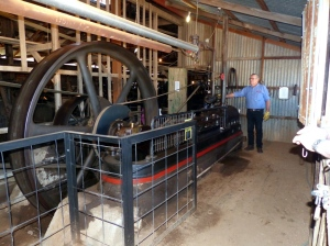 Wool Scour Steam engine