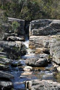 Granite race - Woolshed Falls