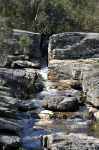 Granite race - Woolshed Falls